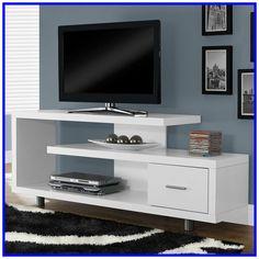 Carrasco Solid Wood TV Stand for TVs up to - Stue ideer Tv Stand Furniture, Cabinet Furniture, Unique Furniture, Furniture Ads, Inexpensive Furniture, Furniture Websites, Furniture Dolly, Furniture Movers, Classic Furniture
