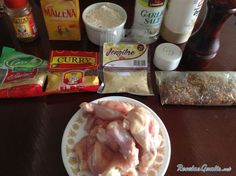 Receta de Pollo campero - Paso 1 Pollo Campero Recipe, Curry, Salvadoran Food, Guatemalan Recipes, Cooking Recipes, Healthy Recipes, Cooking Ideas, Food Ideas, Food Now