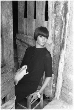 Veruschka von Lehndorff - Vogue 1962-1964 Foto Arquivo Johnny Moncada-in