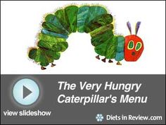 Healthy lessons from The Very Hungry Catepillar