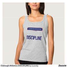 Clabaugh Athletics DISCIPLINE Tank Top