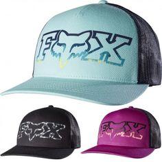 0e0708a0fc4 Fox Racing Remained Womens Trucker Ladies Caps Motocross Snapback Hats