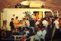 le camion bar, ©Corinne Granger, trois bassins, île de la Réunion