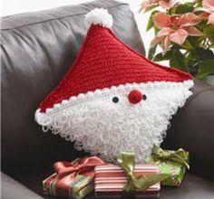 Bernat Santa Pillow - crochet