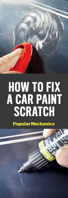 Scratches, chips and other imperfections are just about unavoidable, but a careful repair job can be almost totally invisible. Here's how to fix a paint scratch on your car, step by step. tips How To Fix a Car Paint Scratch Car Cleaning Hacks, Car Hacks, Volvo Xc90, Car Care Tips, Audi A7, Automotive Upholstery, Car Fix, Clean Your Car, Diy Car