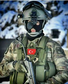 Turkish Military, Turkish Army, Military Suit, Turkish Soldiers, Military Special Forces, Special Ops, Army Men, Helmet Design, Ottoman Empire
