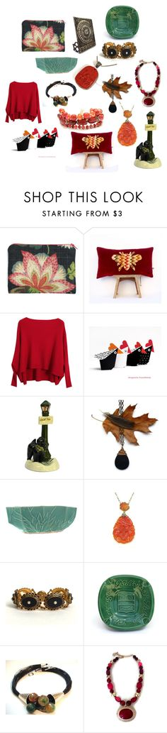 Friday's Feature Picks by patack on Polyvore featuring interior, interiors, interior design, home, home decor, interior decorating, Houlès, Chicnova Fashion, vintage and jewelry