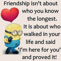 Funny pictures friends girls minions quotes ideas for 2019 Bff Quotes, Best Friend Quotes, Cute Quotes, Friendship Quotes, Motivational Quotes, Funny Quotes, Inspirational Quotes, Friend Sayings, Funny Friendship