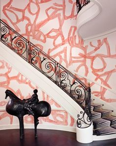 The Most Outstanding Celebrity Foyers via @domainehome