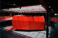 Completed in 2007 in Rome, Italy. Images by Odile Decq - G. Fessy, Odile Decq - L. Filetici. The high-gloss roof of Rome's Museum of Contemporary Art was conceived by Odile Decq as a promenade linking the late 19th-century surroundings to the...