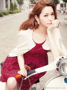 Rirandture  Model: Lena Fujii  ( Japanese Fashion )