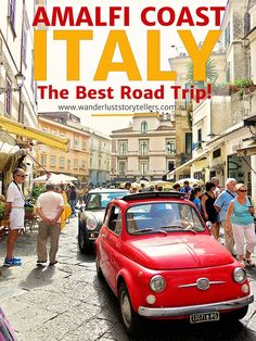 A Complete Guide to an Amalfi Coast Road Trip in Italy! From Positano to Ravello and everywhere in between! Included is a printable itinerary!