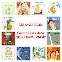 Una selección de cuentos para celebrar el Día del Padre (y no solo), compartiendo tiernos momentos de lectura y abrazos entr...