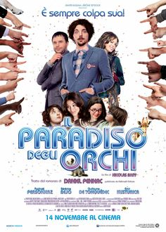 IL PARADISO DEGLI ORCHI - di Nicolas Bary con Bérénice Bejo, Emir Kusturica, Raphaël Personnaz, Ludovic Berthillot.