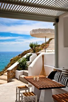 Ideal Summer Destination... Coastal Living, Coastal Style, Coastal Homes, Beach Houses, Beach Cottages, Outdoor Rooms, Outdoor Living, Outdoor Gardens, House By The Sea