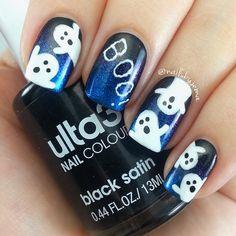 Spooky blue