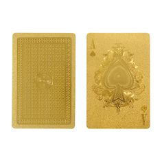Gold Playing Card SetIDEA
