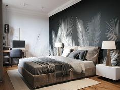 Modern Bedroom Design, Home Room Design, Home Interior Design, Living Room Designs, House Design, Bedroom Designs, Stylish Bedroom, Luxurious Bedrooms, Bedroom Decor