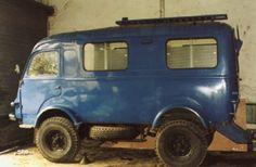 4x4 Camper Van, Small Motorhomes, Automobile, Small Trucks, Auto Design, Camping Car, Campervan, Volvo, Trailers