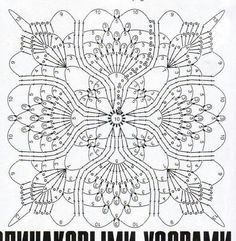 Neat thread crochet pattern