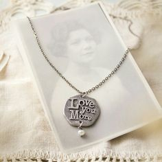 Love You More Necklace from Jewel Kade's 2013 Mother's Day Collection