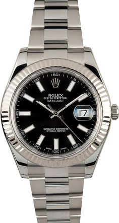 Rolex Datejust 116300 Black Index
