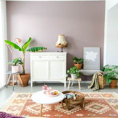 Home Decoration Inspiration Code: 5691577385 Home Wall Colour, Wall Colors, House Colors, Interior Walls, Living Room Interior, Interior Plants, Decoration Inspiration, Interior Inspiration, Interior Bohemio