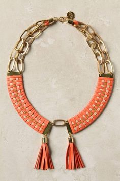 #leather #necklace