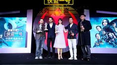 Gareth Edwards, Diego Luna, Felicity Jones, Donnie Yen and Jiang Wen Meet the Press  http://www.chinaentertainmentnews.com/2016/12/rogue-one-stars-descend-on-beijing-for.html