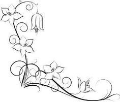 drawings of vines and flowers - Google Search | My Style | Pinterest ... Flower Vine Clipart