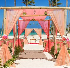 Punta-Cana-All inclusive Stylish Beach-Wedding-ceremony arch decorationsjpg Take…