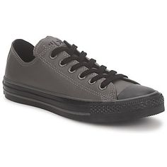 Tennarit Converse ALL STAR DARK OUT LEATHER OX Grey 85e spartoo.fi sneakers
