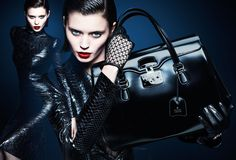 Gorgeous black bag! Gucci Fall/Winter 2013-14 Advertising Campaign