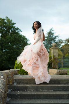 Ethereal Blush Vera Wang Wedding Dress