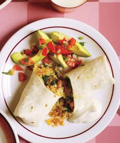 Bean, Spinach, and Quinoa Burritos | Feeling the dinner crunch? Turn to these make-ahead and freezer-friendly recipes to get a delicious meal on the table in no time.