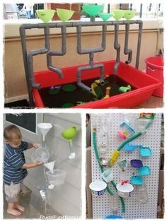Fun Outdoor Games, Outdoor Fun For Kids, Backyard For Kids, Outdoor Play Spaces, Water Walls, Outdoor Classroom, Kids Events, Kids Playing, Activities For Kids