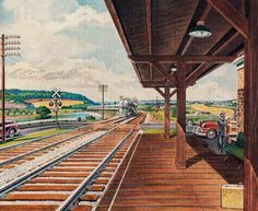1940s Suburban Station