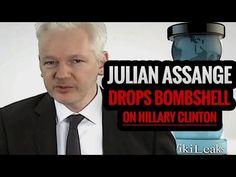 Julian Assange Drops Bombshell Involving Murder on Hillary Clinton (Video) | Politics
