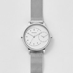 e52e54971df9 Hagen Dual-Time Steel Mesh Watch Relojes Skagen