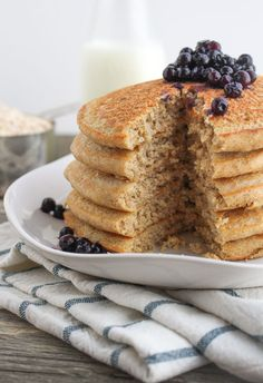 Oat Flour Pancakes The Secret(s) to Creating Fluffy Pancakes Everytime