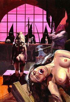 Italian 70's Pulp Horror