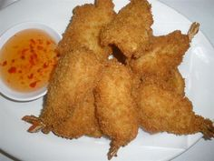 Fried Shrimp From Awesome Thai In Reseda Ca