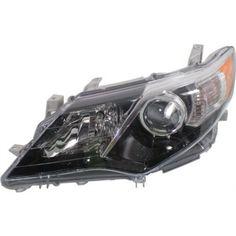 2012-2014 Toyota Camry Head Light LH, Assembly, Halogen, SE Model