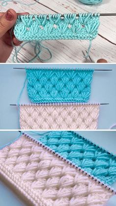 Amazing Knitting provides a directory of free knitting patterns, tips, and tricks for knitters. Knitting Stiches, Crochet Stitches Patterns, Lace Knitting, Knitting Patterns Free, Knit Crochet, Knitting Projects, Crochet Projects, Zeina, How To Purl Knit