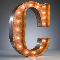 Fab.com | Light-Up Marquee Letters