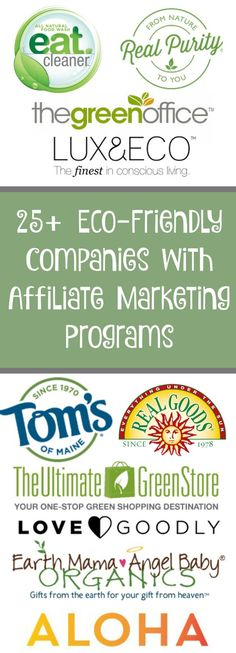These GREEN online stores and brands below are looking for bloggers and social media fanatics to help them spread the word of their products. In exchange for becoming an affiliate, these companies will pay you commission for every sale you generate through ad placement on your blog, product reviews and link shares. #organic #fairtrade #blogging