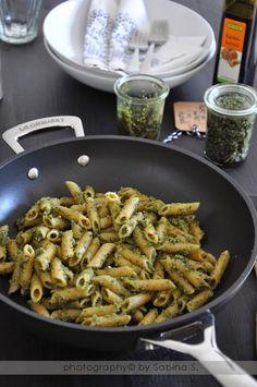 Due bionde in cucina: Pesto ai semi di zucca