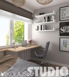 nowoczesna sypialnia w bloku - zdjęcie od MIKOŁAJSKAstudio - Sypialnia - Styl…