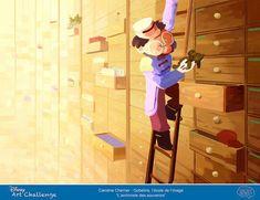 01 Disney-Art-Challenge-2015 Caroline-Cherrier Gobelins