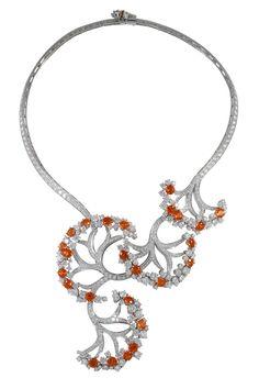 Van Cleef & Arpels - Castalie necklace | Flickr - Photo Sharing!